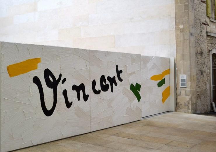 Fondation Van Gogh - portail
